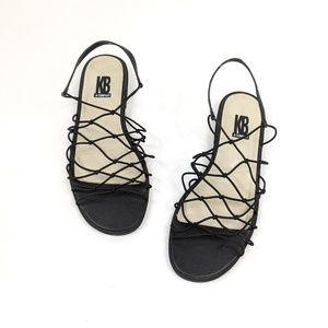 KB & Company vintage 90's strappy slingback sandal